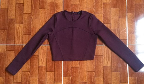 Camisa Cropped Zara ¡NUEVO!