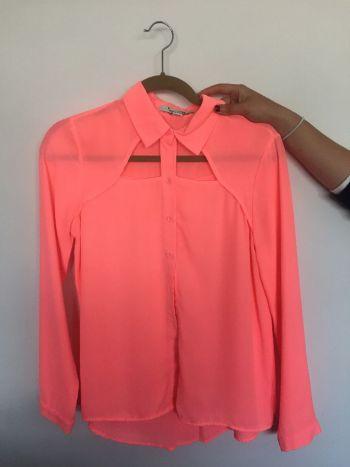 Camisa con Transparencia