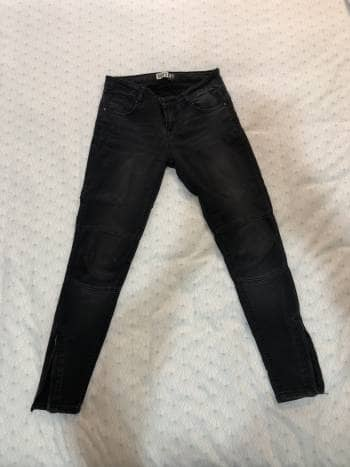 Jeans entubados mezclilla