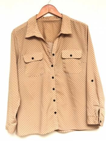 Blusa/camisa de mini polka dots