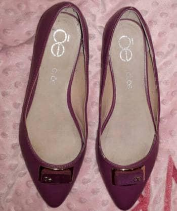 Flats Cloe color magenta