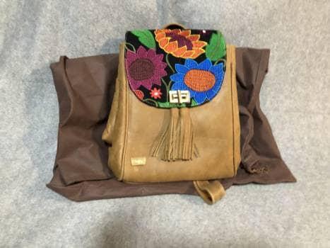 Bolsa backpack piel