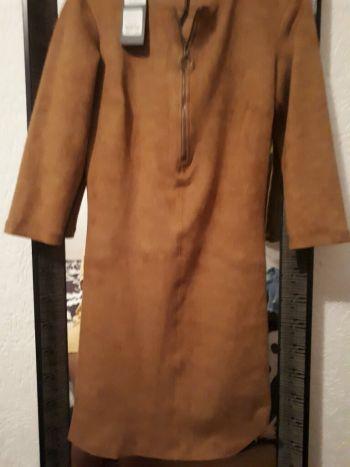 Vestido color camel
