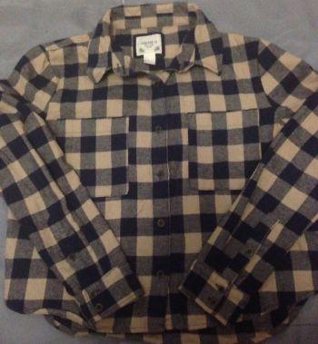 Camisa de Cuadros Forever 21