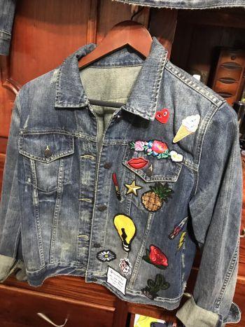 Denim jacket patches