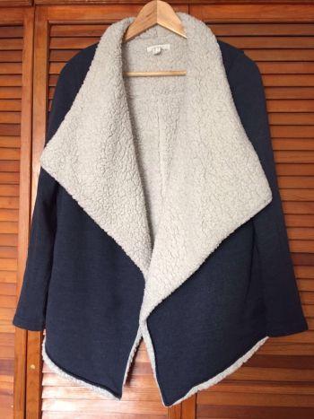 Abrigo azul marca springfield