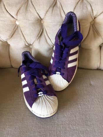 Adidas superstar morado