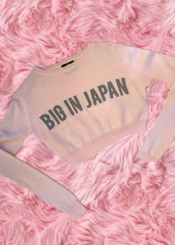 BIG IN JAPAN Crop top