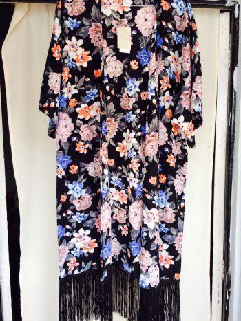 Kimono de flores ralla L