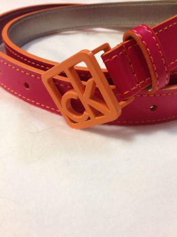 Cinturon rosa-naranja