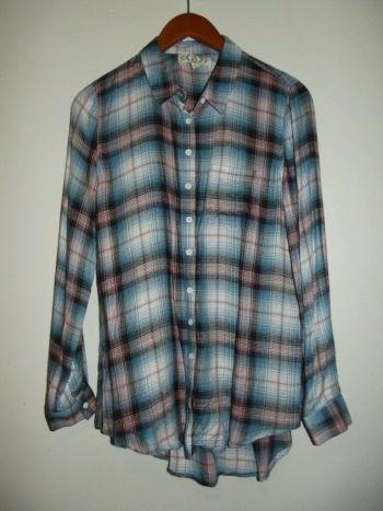 Camisa de cuadros mediana