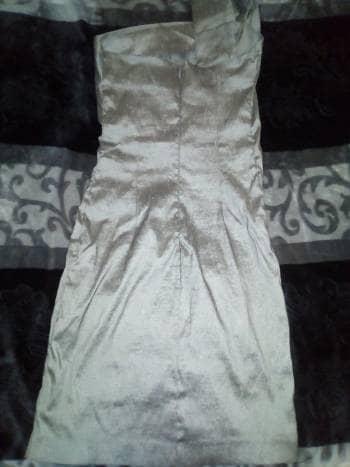 a7a22079d Vestido gris de fiesta - GoTrendier - 1023080