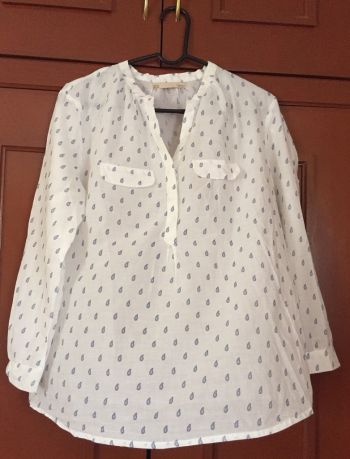 Blusa Sfera blanca