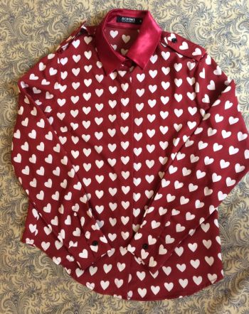 Camisa de corazones ROMWE