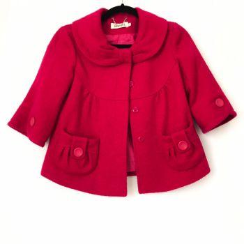 Abrigo rosa mexicano