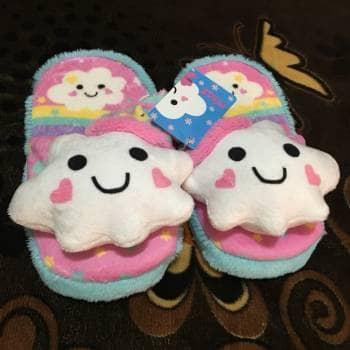Pantuflas super cute