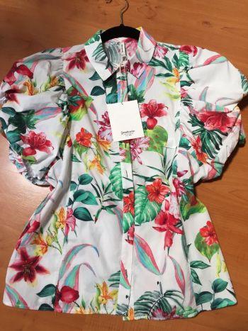 Camisa estampado floral Stradivarius✨NUEVA