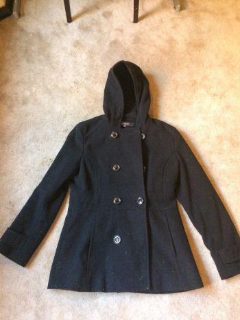 Abrigo Negro Talla 8