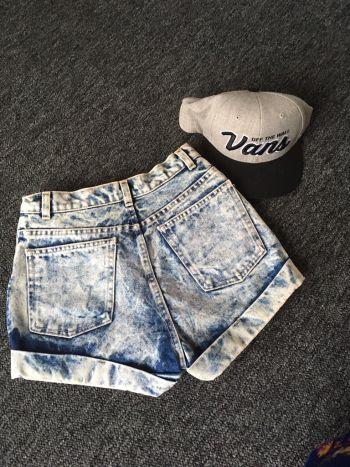 Acid wash american apparel short *regalo envio*