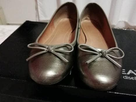 Flats color plata