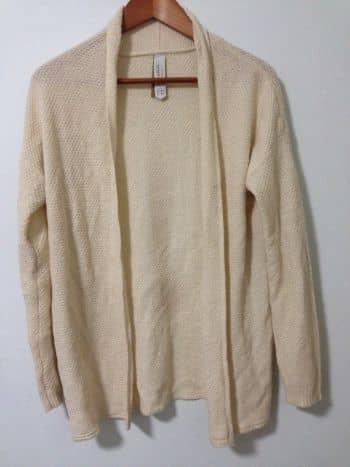 Suéter beige Pull & Bear