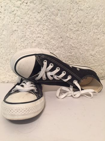 All Star Converse negros