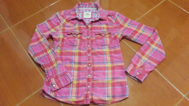 Camisa cuadros multicolor 2x1