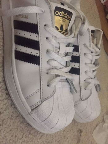 Adidas superstar B&W
