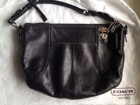 Bolsa de piel COACH  original !!!