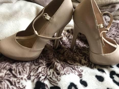 2X1 Zapatos de plataforma