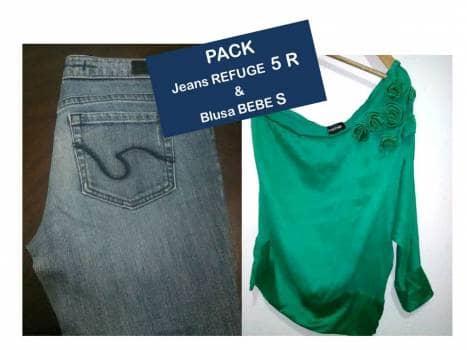 b5ff337f86 PAK JEANS Refuge   Blusa verde BEBE - GoTrendier - 790641