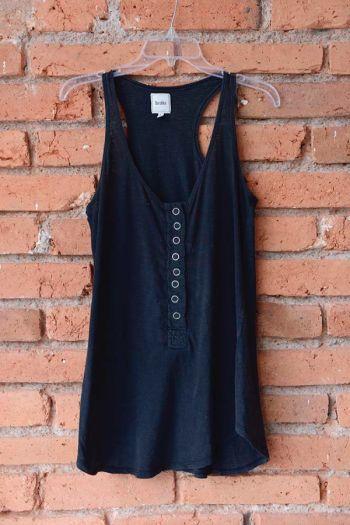 Camiseta Negra Casual