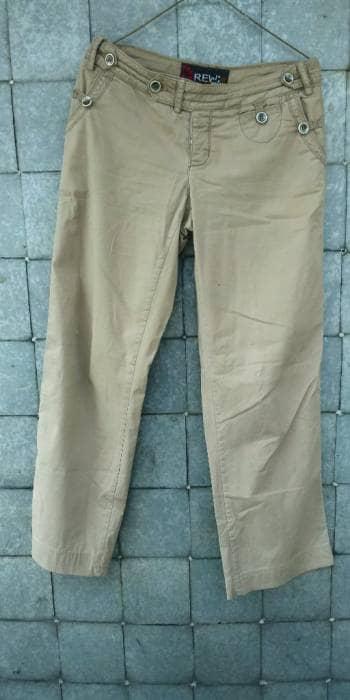 Pantalones corte recto