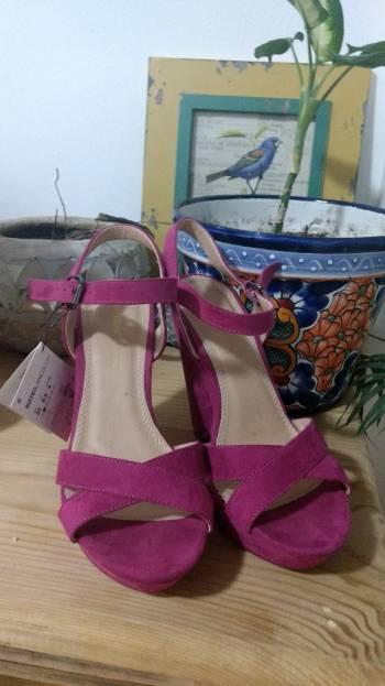 alta moda comprar genuino comprar baratas Tacones fucsia - GoTrendier - 1784061