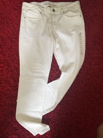 Jeans Nuevos blancos