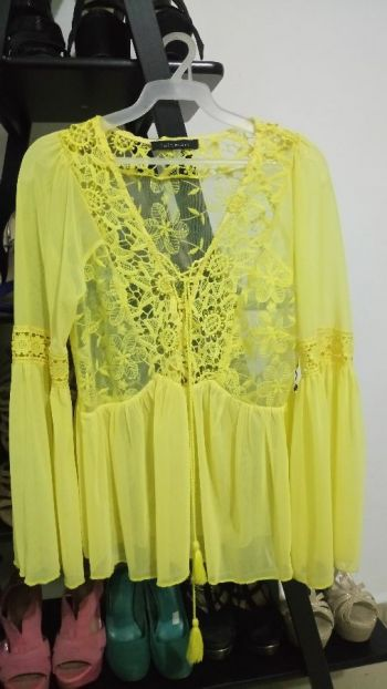 Blusa boho Amarillo