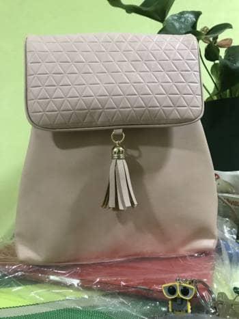Backpack rosa nuevo