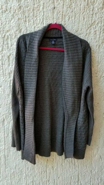 Sweater gris oxford