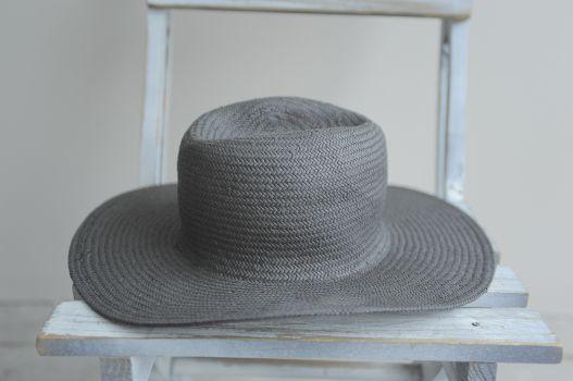 Sombrero negro paja