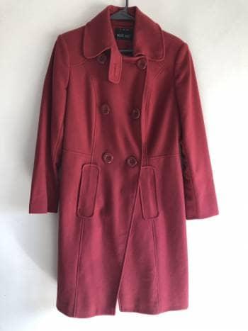 Abrigo color Rosa