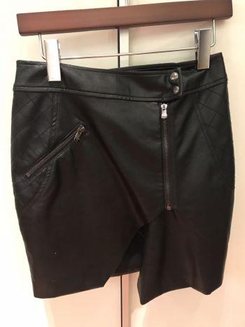 Leather mini