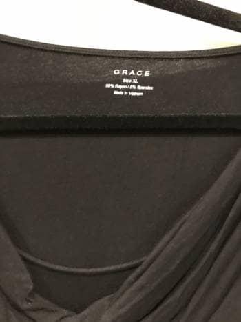 Blusa negra cuello caido - GoTrendier - 599402 20d5ab68fb7da