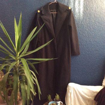 Abrigo largo y ligero