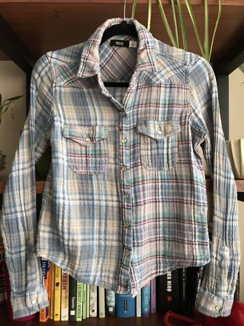 Camisa de botones y cuadros BDG