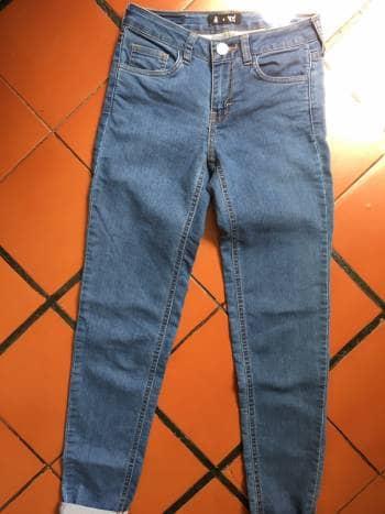 Jeans peto alto