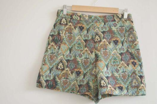 Short tipo tweed