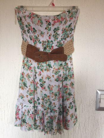 Vestido Floral con cinturon