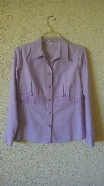 Camisa formal lila