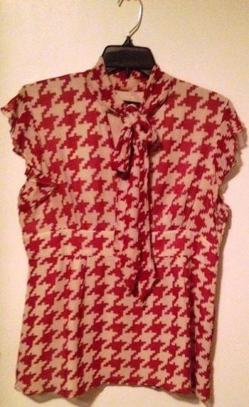 7a6c62bed8 Hermosa blusa roja con beige - GoTrendier - 310562