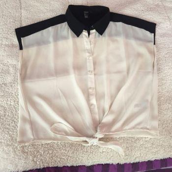 Blusa Blanco y Negro